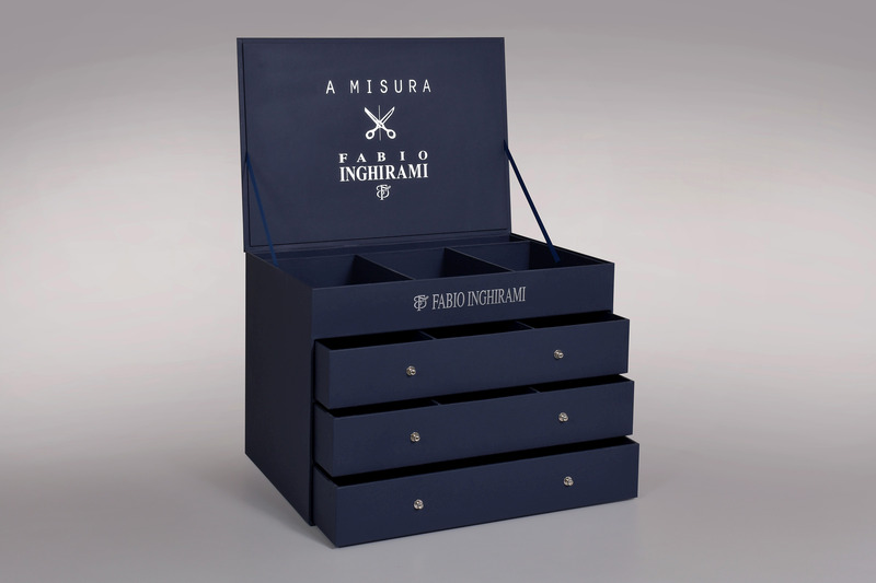 scatole rigide rivestite - Scatolificio Gasperini - Fabio Inghirami