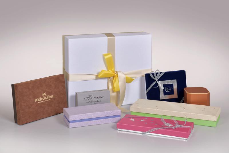 scatole rigide rivestite - Scatolificio Gasperini - Perugina