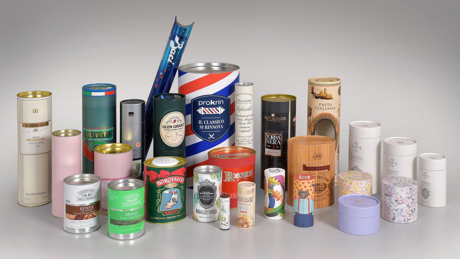 Coated cardboard tubes - Gasperini