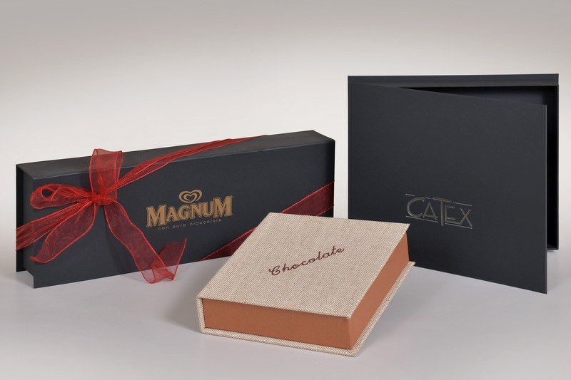 Production of rigid coated boxes - Gasperini Packaging - Magnum